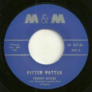 FREDDY BUTLER - PITTER PATTER