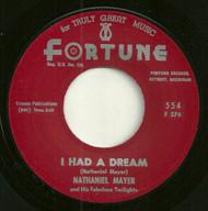 NATHANIEL MAYER - I HAD A DREAM