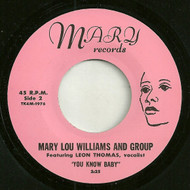 MARY LOU WILLIAMS - YOU KNOW BABY  (REPRO)