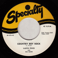 LLOYD PRICE - COUNTRY BOY ROCK (REPRO)
