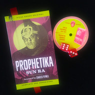 LTD ED. PROPHETIKA BY SUN RA (WITH  RED DICE, dustjacket)