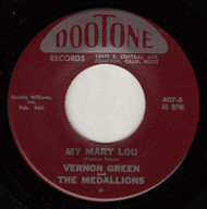 VERNON GREEN AND THE MEDALLIONS - MY MARY LOU (REPRO)
