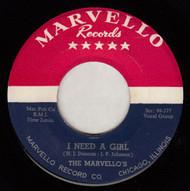MARVELLOS - I NEED A GIRL (REPRO)