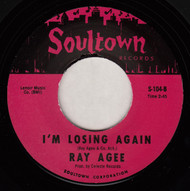 RAY AGEE - I'M LOSING AGAIN  (REPRO)
