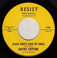 HAYES COTTON - BLACK WINGS HAVE MY ANGEL (REPRO)
