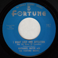 NATHANIEL MAYER - I WANT LOVE AND AFFECTION  (REPRO)