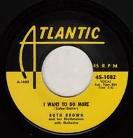 RUTH BROWN - I WANT TO DO MORE (REPRO)