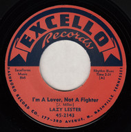 LAZY LESTER - I'M A LOVER, NOT A FIGHTER (REPRO)