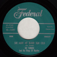 IKE TURNER - SHE MADE MY BLOOD RUN COLD (REPRO)