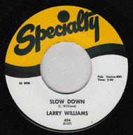 LARRY WILLIAMS - SLOW DOWN / DIZZY MISS LIZZY