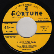 EDDIE KIRKLAND - I NEED YOU BABY