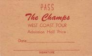 THE CHAMPS WEST COAST TOUR PASS