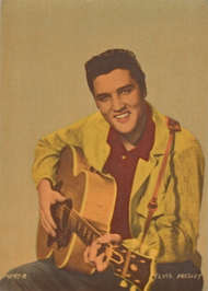 ELVIS POSTCARD ORIGINAL 1958
