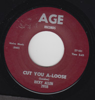 ALLEN  • RICKY ALLEN - CUT-A YOU LOOSE (REPRO)