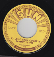 LEWIS • SAMMY LEWIS - SO LONG BABY GOODBYE