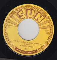 SMITH • WARREN SMITH - I'VE GOT LOVE IF YOU WANT IT