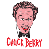 CHUCK BERRY - MONSTERS OF ROCK N ROLL  TEE #3