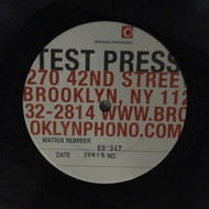 347 BENNY JOY - TEST PRESS - ROLLIN' TO THE JUKEBOX ROCK LP (NTP-347)