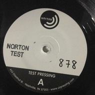 HARLAN WOLF TEST PRESSING – RADIOACTIVE FLIP FLOP/MARTY WATERS – MIDNIGHT BLUES (NTP-878)
