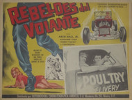 REBELDES DEL VOLANTE - ARCH HALL