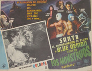 SANTO BLUE DEMON CONTRA LOS MONSTROUS