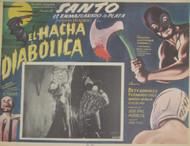 SANTO EN EL HACHA DIABOLICA