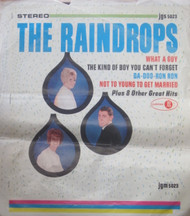 RAINDROPS ORIG LP COVER SLICK