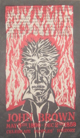 JOHN BROWN: CELEBRATE PEOPLES' HISTORY POSTER
