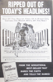 CHICAGO CONFIDENTIAL POSTER