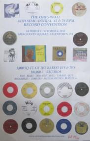THE ORIGINAL! 26TH SEMI-ANNUAL 45 &78 CONVENTION POSTER