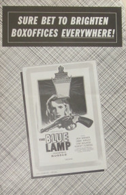 THE BLUE LAMP PRESSBOOK