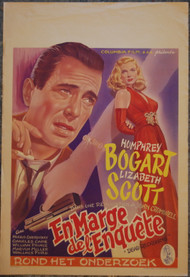 DEAD RECKONING (Bogart)  Original Belgian poster