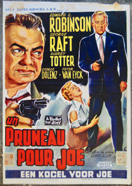A BULLET FOR JOE  ROBINSON -RAFT Belgian movie poster (orig)