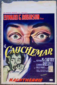 NIGHTMARE Edward G. Robinson Belgian movie poster (orig)