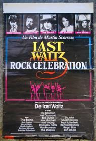 LAST WALTZ Belgian movie poster (orig)