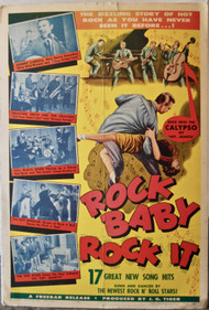 ROCK BABY ROCK IT! movie poster (orig)
