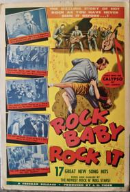 ROCK BABY ROCK IT! movie poster (orig)