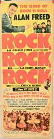 ROCK ROCK ROCK CHUCK BERRY ALLEN FREED movie poster (orig)