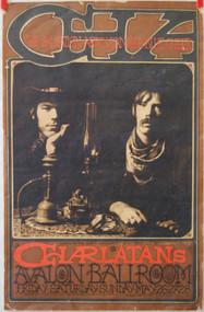 CHARLATANS AVALON BALLROOM poster (orig) Mike Wilhelm