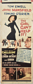 THE GIRL CAN'T HELP IT movie poster (orig)