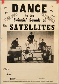 THE SATELLITES poster (orig)