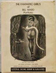 complete set (6 plus orig envelope) Fantastic Girls Of Bill Ward