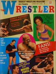 THE WRESTLER MAGAZINE 1968
