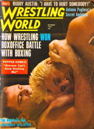 WRESTLING WORLD MAGAZINE 1966