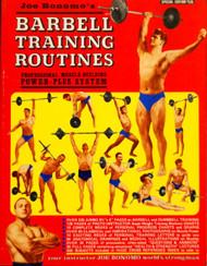 JOE BONOMO'S BARBELL TRAINING ROUTINES 1970