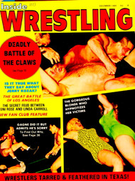 INSIDE WRESTLING MAGAZINE 1969