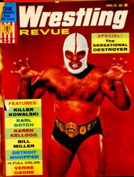 WRESTLING REVUE MAGAZINE 1963