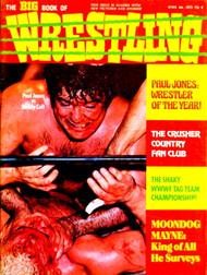 THE BIG BOOK OF WRESTLING MAGAZINE 1975