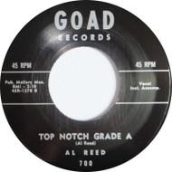 AL REED - TOP NOTCH GRADE A /RAY JOHNSON  (REPRO)