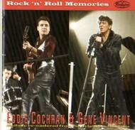 EDDIE COCHRAN AND GENE VINCENT - ROCK & ROLL MEMORIES (CD)